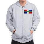 'Groningen Gronings Blank Fla Zip Hoodie
