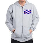 Friesland Frisian Flag Zip Hoodie