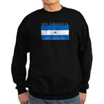 Nicaragua Nicaraguan Flag Sweatshirt (dark)