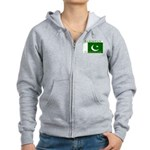 Pakistan Pakistani Flag Women's Zip Hoodie