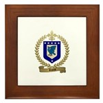RIVEST Family Crest Framed Tile