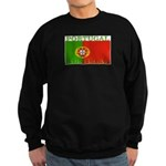 Portugal Portuguese Flag Sweatshirt (dark)