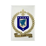 RIVEST Family Crest Rectangle Magnet