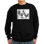 California Grey Chickens Sweatshirt (dark)