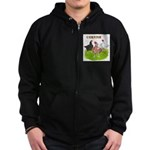 Cornish Trio Zip Hoodie (dark)