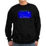 Alaska State Flag Sweatshirt (dark)