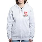 STOP HILLARY Women's Zip Hoodie