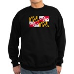 Maryland Blank Flag Sweatshirt (dark)