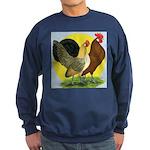 Red Quill Chickens Sweatshirt (dark)
