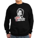 Anti-Hillary: Huck Fillary Sweatshirt (dark)