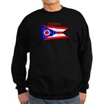 Ohio State Flag Sweatshirt (dark)