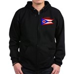 Ohio State Flag Zip Hoodie (dark)