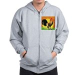 Rise and Shine Dutch Bantam Zip Hoodie