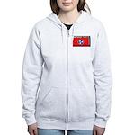 Tennessee State Flag Women's Zip Hoodie