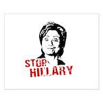 Anti-Hillary: Stop Hillary Small Poster