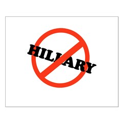 No Hillary Posters