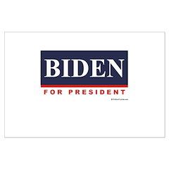 Biden for President Posters
