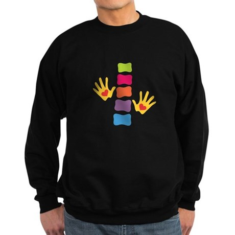 Chiro Hands & Spine Sweatshirt (dark)