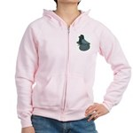 English Trumpeter Andalusian Women's Zip Hoodie