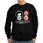 Chicks Before Dicks Sweatshirt (dark)