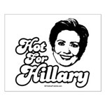 Hot for Hillary Small Poster