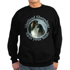 Winter Day Sheltie Sweatshirt