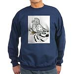 English Trumpeter Light Splas Sweatshirt (dark)