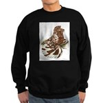 English Trumpeter Red Splash Sweatshirt (dark)
