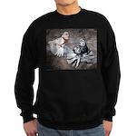 Champion Trumpeter Pigeons Sweatshirt (dark)