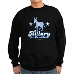 Hillary for President Sweatshirt (dark)