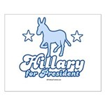 Hillary for President Small Poster