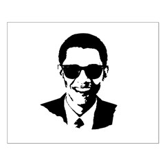 Obama Raybans Small Poster