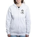 Barack Obama Bandana Women's Zip Hoodie