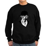 Barack Obama Hipster Sweatshirt (dark)