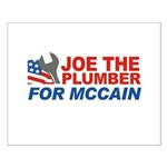 Joe the Plumber for McCain Small Poster