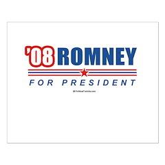 Romney for President Small Poster