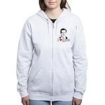 I Love Mitt Women's Zip Hoodie