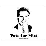 ROMNEY 2008: Vote for Mitt Small Poster