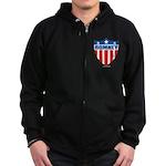 Mitt Romney Zip Hoodie (dark)