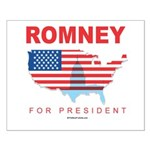 Romney for President Small Poster