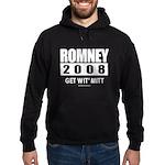 Romney 2008: Get wit' Mitt Hoodie (dark)