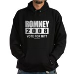 Romney 2008: Vote for Mitt Hoodie (dark)