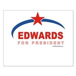 Edwards for President Small Poster