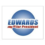 John Edwards for President Small Poster
