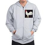 Leghorn Rooster Zip Hoodie