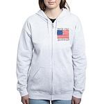 Vote for John Edwards Women's Zip Hoodie