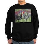 Marans Chickens Sweatshirt (dark)