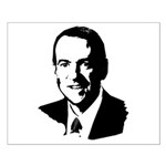Mike Huckabee face Small Poster
