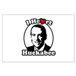 I Heart Huckabee Large Poster