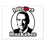 I Heart Huckabee Small Poster